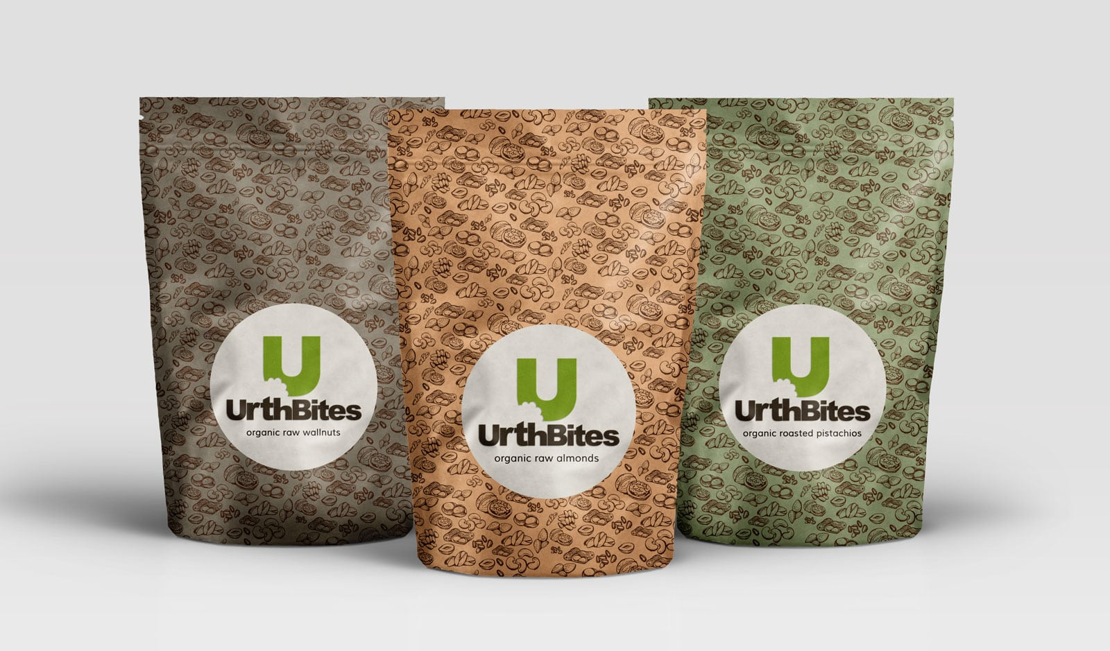 Urth Bites Food Package Design